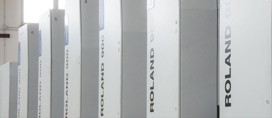 La nuova macchina da stampa Roland 906-LV