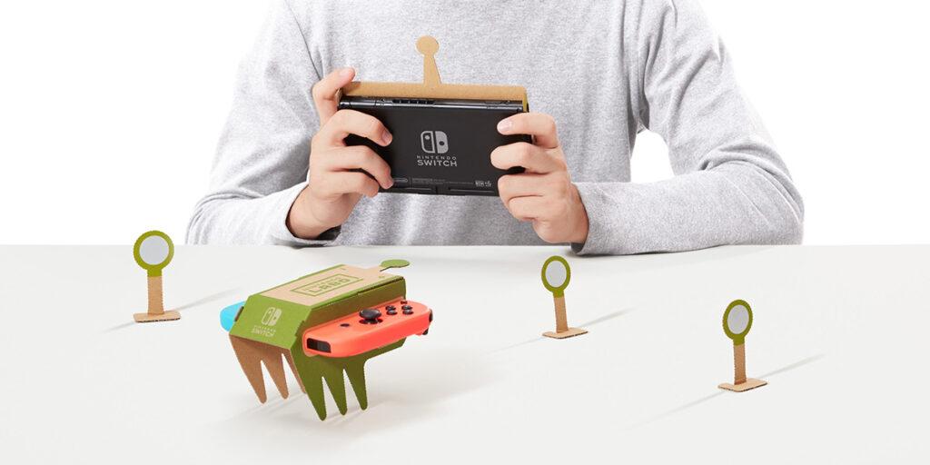 JOY-CON cartone e fantasia arriva Nintendo LABO!