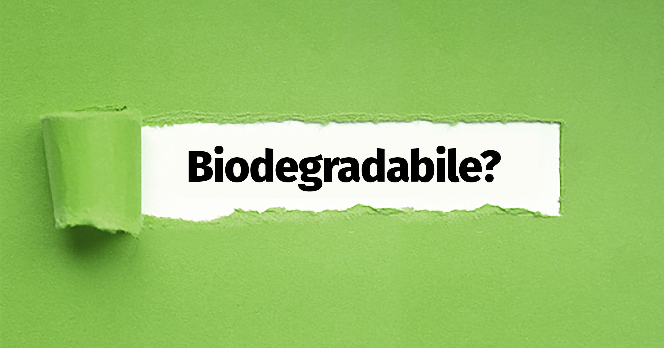 Sostenibilità, Compostabilità, Biodegradabilità.